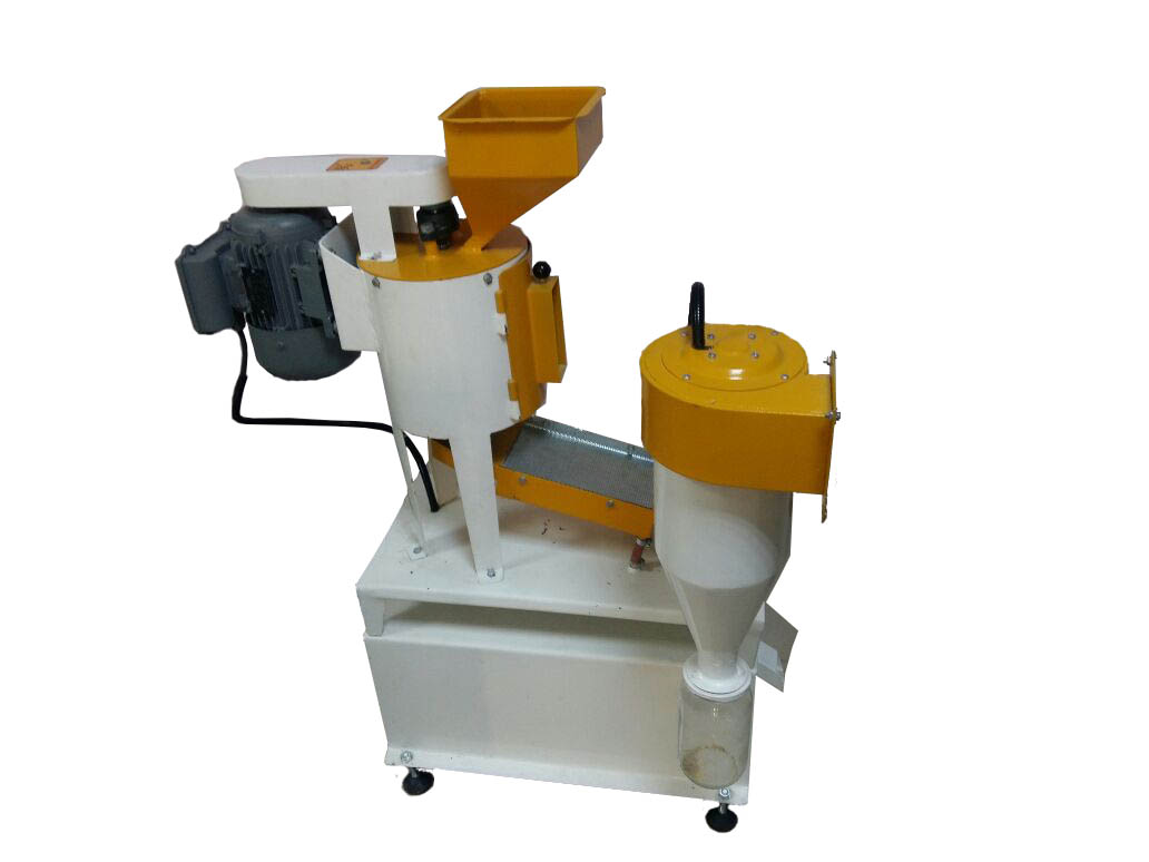 laboratory type barley and wheat peeling machine